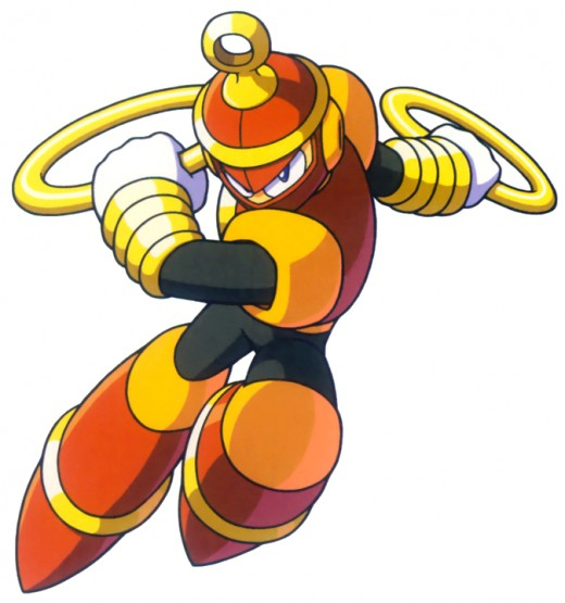 Ring Man uses chakram (ring-like weapons) to destroy his opponents.