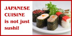 Japanese Food Is Not Just Sushi! (Part 1 of 2)