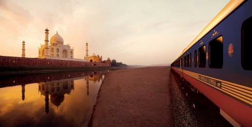 Luxury Train Traveling in India