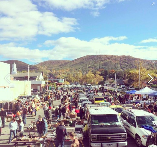 A great day at the Beacon Flea