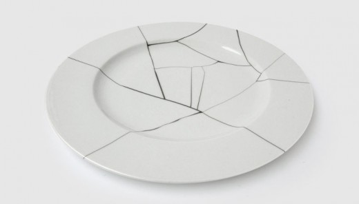 Broken plates, and saying sorry, and all that about not going back to how it was...