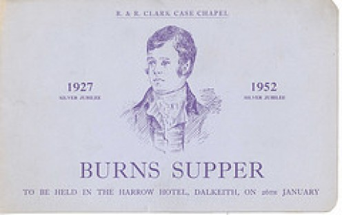 Burns night on 25th January is usually celebrated with Cock a Leekie Soup and Haggis..........all photos courtesy Flickr