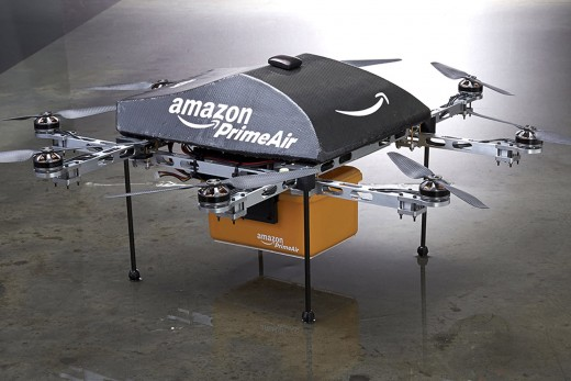 Ecommerce with Amazon Prime Air