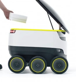 Proposed Delivery Robot