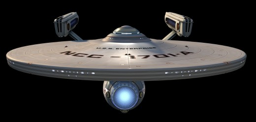 The Front of the Movie Enterprise