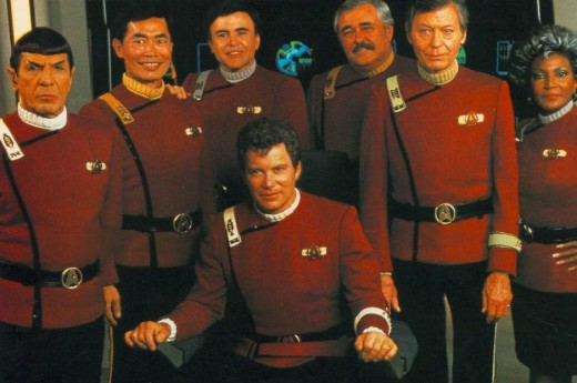 The Crew of the Enterprise-A