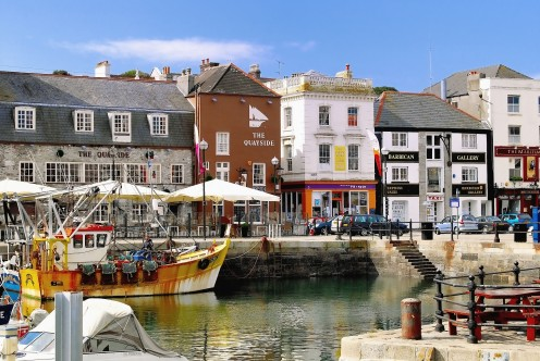 The Barbican at Plymouth is a must for anyone interested in maritime history
