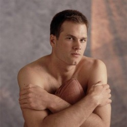 Brady in one of his hit fashion shoots