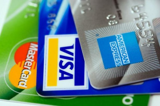 Popular credit cards available - Master, Visa, American Express