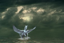 The Flight of the Horse (a poem of mythical proportions)
