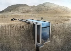 Case Brutale: The House with a Pool Roof in the Ground on a Cliff