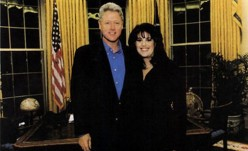 The controversy involving President Clinton  and aide, Monica  Lewinsky