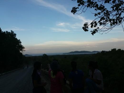 Going to Sabang via shortcut.. still rough roads!