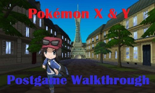 Pokemon X And Y Postgame Walkthrough Levelskip
