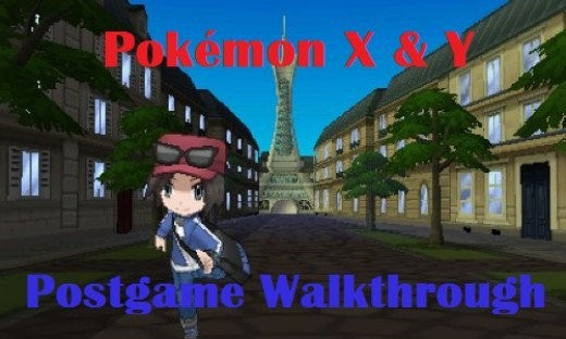 Pokemon X & Y Postgame Walkthrough