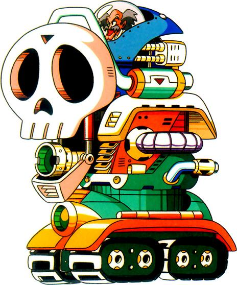 By now it is obvious that Dr. Wily will never change his ways as he battles you a fifth time.