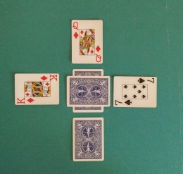 Third Card (East) Turned