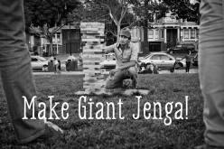 How to Make Giant Life Size Jenga Step-by-Step