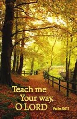 Teach Me Your Ways, O Lord