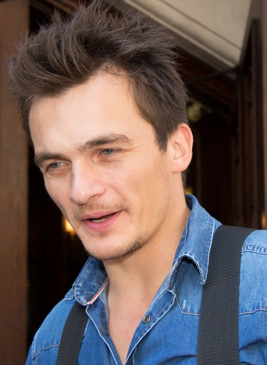Rupert Friend - credentials - played Peter Quinn in Homeland