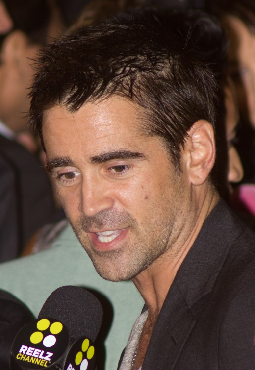 Collin Farrell - credentials - played Mitchel in London Boulevard