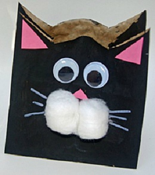 30 choice cat crafts hubpages for Cat art and craft