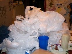 What do you do with plastic bags from retail stores?