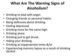 How do I know if I'm an alcoholic?