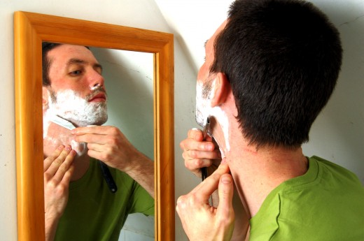 Soap-based shaving lubricants aggravate acne and should be avoided.