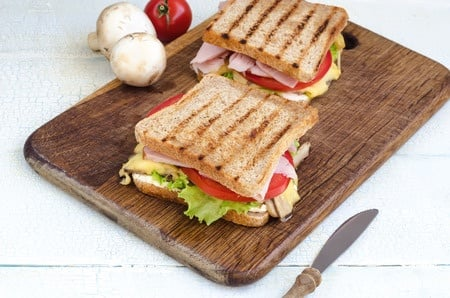 Healthy options for sandwich fillings