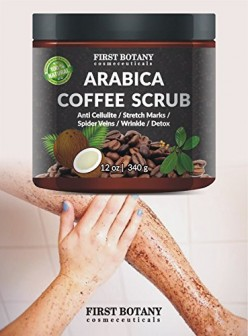 Be ready to be amazed with this 100 % natural Coffee scrub.
