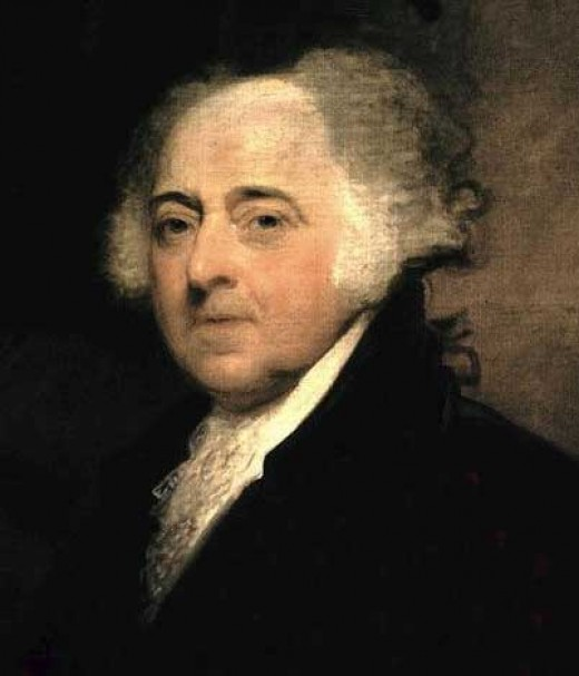 John Adams By Gilbert Stuart  Public Domain