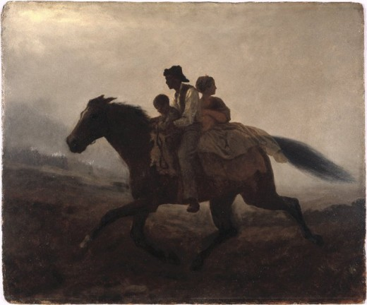 A Ride for Liberty By Eastman Johnson  Public Domain