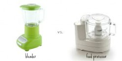 Blenders Vs Food Processors