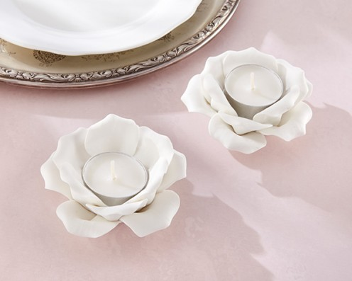 Flower candle holder from Kate Aspen