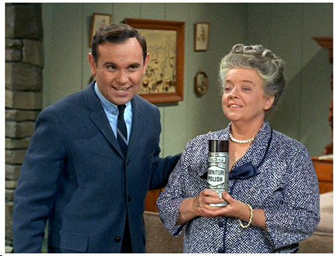 Schell appeared on  Andy Griffith Show as  director for television  commercial for Fosters  Furniture Polish with Aunt Bea
