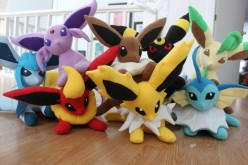 Pokemon Eeveelution Plushies