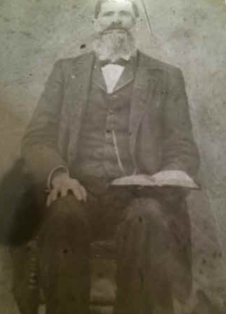 Samuel Slaven Jr (author's great-great-grandfather) circa 1900.