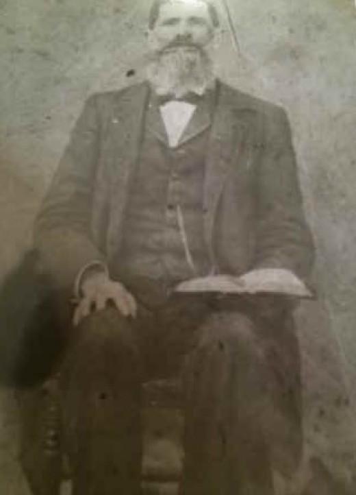 Samuel Slaven Jr (author's great-great-grandfather) circa 1900.