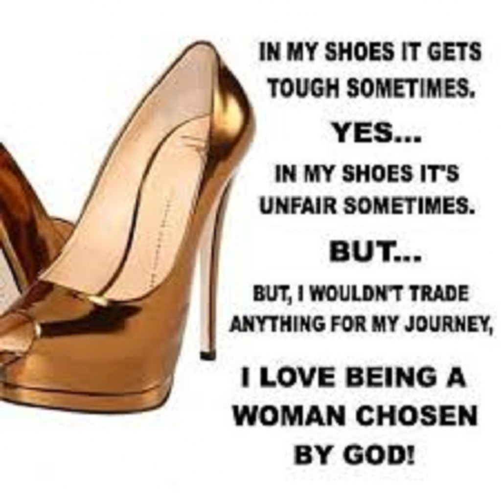 the purpose of a woman  being the woman that god created