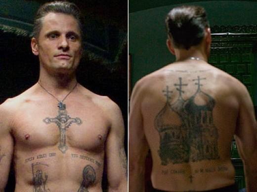 viggo mortensen 39 s russian mafia tattoos hubpages