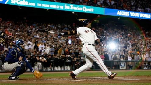 Baseball superstar, Barry Bonds