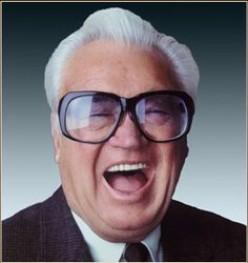 Legendary Chicago Cubs announcer, Harry Carey