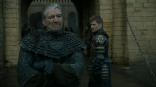 The cool and collected Blackfish taunts a rattled Jaime to end.