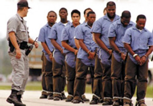 White people call the prison system the black man's hotel