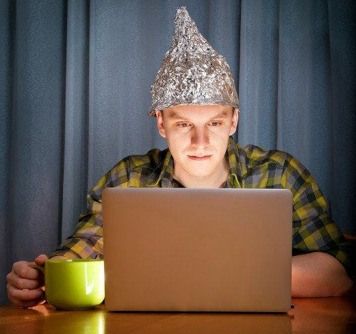 No, that doesn't mean tinfoil hats are fashionable.