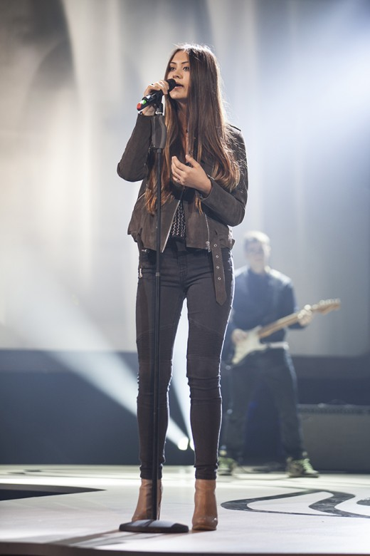 Jasmine Thompson performing at the Webvideopreis 2015 | Best Young Youtube Female Singers: Jasmine Thompson