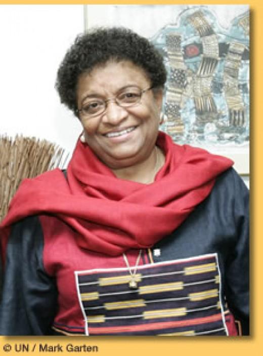 Ellen Johnson-Sirleaf, President of Liberia