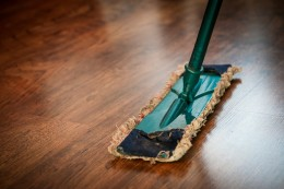 A green cleaning business reduces household chemicals.