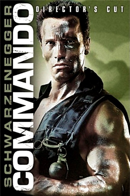 "Poster for the director's cut of ""Commando"""